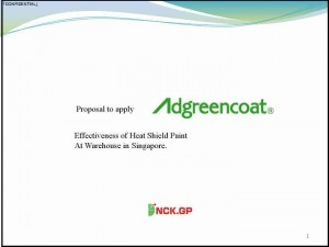Effectiveness of Heat Shield Paint At Warehouse in Singapore